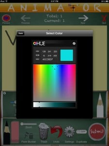 Animator (iPad 2) - Custom Colors