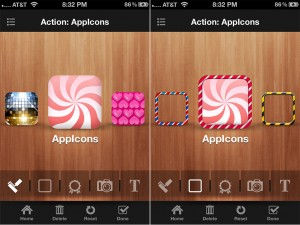 App Icons version 1.1 (iPhone 4) - Background and Frame