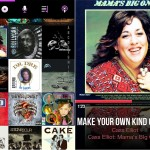 CarTunes Music Player version 5.0 - Albums and Now Playing