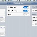 CarTunes Music Player version 5.0 - Settings