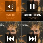 CarTunes Music Player version 5.0 - Gestures