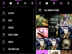 CarTunes Music Player version 5.0 - Music Browser