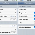 CarTunes Music Player version 5.1 - Settings