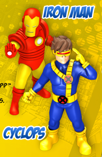 Upcoming HeroClix TabApp To Include Marvel Superheroes