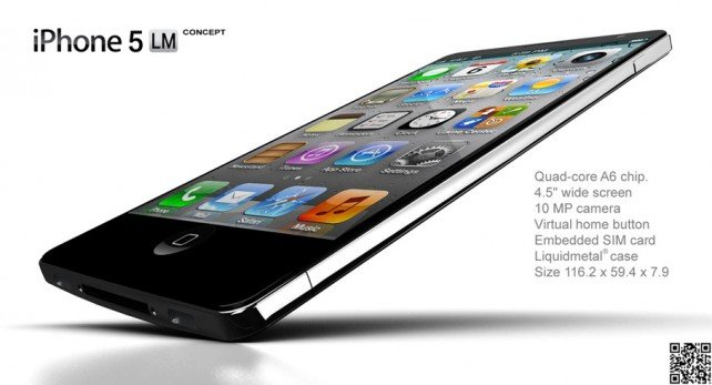 iPhone Liquidmetal Concept