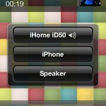 iHome iD50 - Bluetooth Call