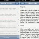 Index Card (iPhone 4) - Projects