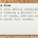 Index Card (iPhone 4) - Card Flow