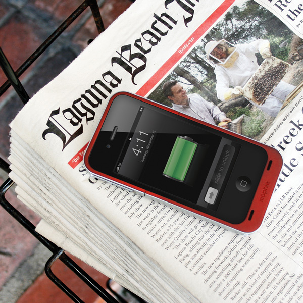 mophie juice pack air® - iPhone 4 & 4S Battery Case
