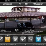 Localscope version 2.3 - Wikipedia and Citysearch (AR View)