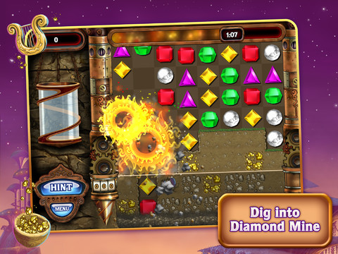 Bejeweled HD - Diamond Mine