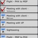 Organized version 1.4 (iPhone 4) - Date List