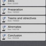 Organized version 1.4 (iPhone 4) - Audio Notes List