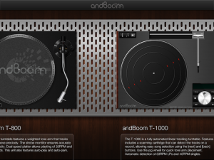 Vinyl Tap by andBoom screenshot