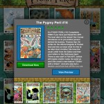 Pocket God Comics version 2.0 (iPad 2) - Title Overview (Portrait)