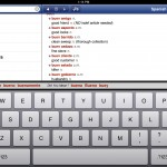 Spanish-English Dictionary and Verbs version 1.4.3 (iPad 2) - Search