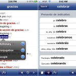 Spanish-English Dictionary and Verbs version 1.4.3 (iPhone 4) - Search Type