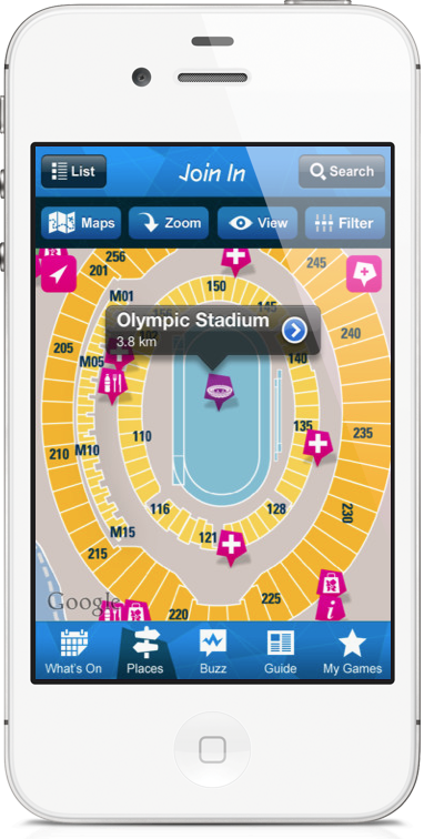London 2012: Official App