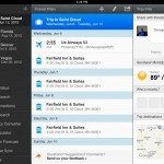 WorldMate – Traveler's Value Pack version 3.0.25 (iPad 2) - Trip Details