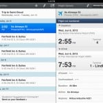 WorldMate – Traveler's Value Pack version 3.0.25 (iPad 2) - Flight Details