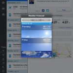 WorldMate  Travelers Value Pack version 3.0.25 (iPad 2) - Weather
