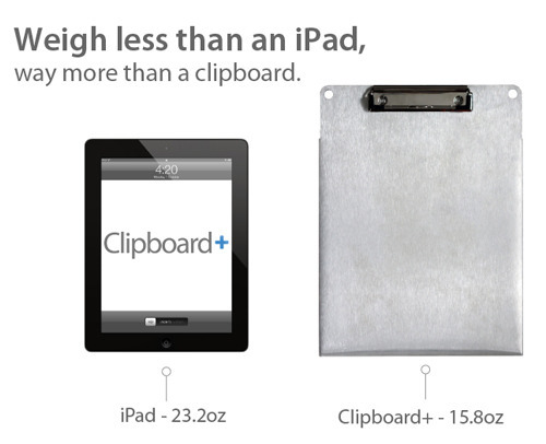 3dbbb27879291218f9bd031f7127de3b large The Clipboard+ Accessory Launches On Kickstarter