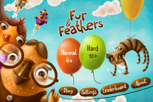Fur and Feathers HD by PopAppFactory screenshot