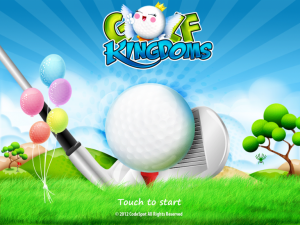 Golf KingDoms by CODESPOT screenshot