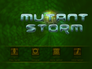 MUTANT STORM by Crescent Moon Games screenshot