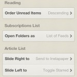 Tweak your Reeder experience to suit your needs.