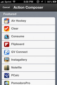 Launch Center Pro by App Cubby screenshot