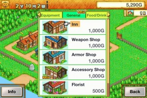 Dungeon Village by Kairosoft Co.,Ltd screenshot