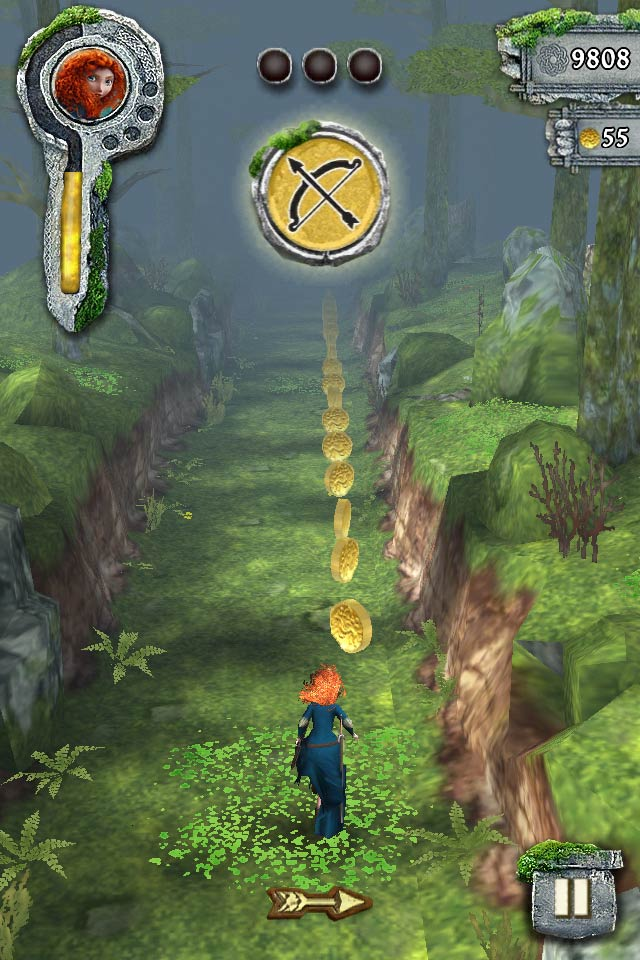 Can You Outrun Mordu The Bear In Temple Run Brave