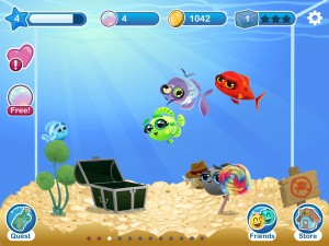 Fish with Attitude by Crowdstar Inc screenshot