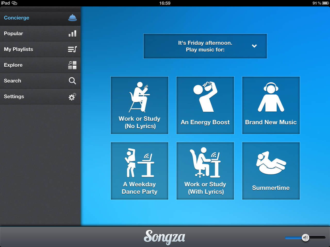 Songza App For Pc