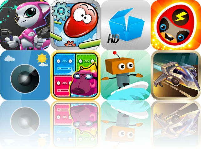 Today's Apps Gone Free: Project 83113, Blobster, Solids Elementary HD And More