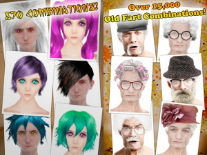 Anime Booth and Old Fart Booth - Examples