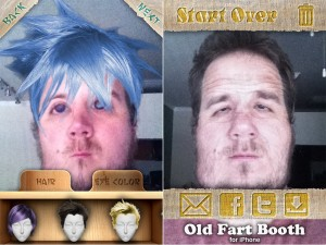 Anime Booth and Old Fart Booth (Free) - Create and Share