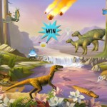 Ansel and Clair with Cretaceous Dinosaurs - WIN