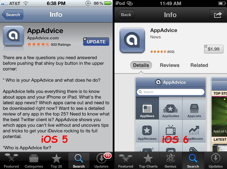 how to change iphone app store