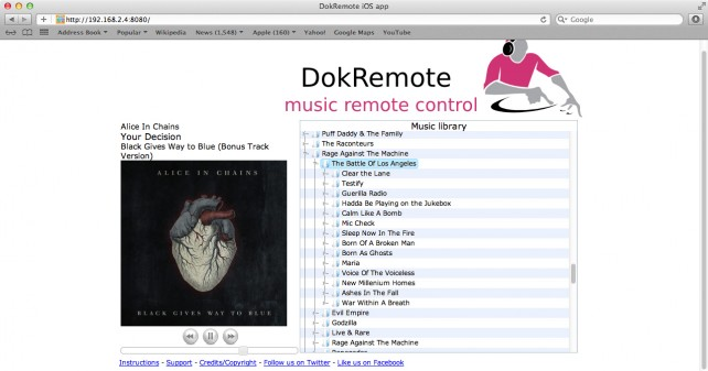 DokRemote (Mac) - Main