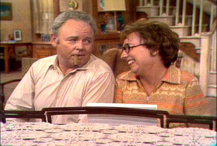 Archie Bunker and his original dingbat