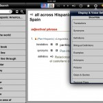 English-Spanish Unabridged Dictionary version 2.3 (iPad 2) - Settings