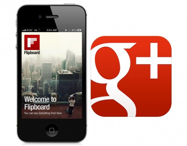 Flipboard and Google+