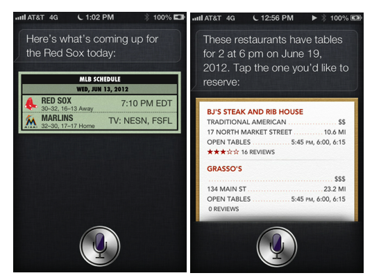 Siri - Fun and Food