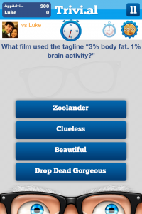 Trivial by MobileFWD screenshot