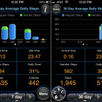 MotionX-Sleep version 3.0 (iPhone 4) - Step Reports