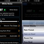 MotionX-Sleep version 3.0 (iPhone 4) - Ambient Sounds and Music