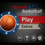 Natural Basketball HD (iPad 2) - Main Menu