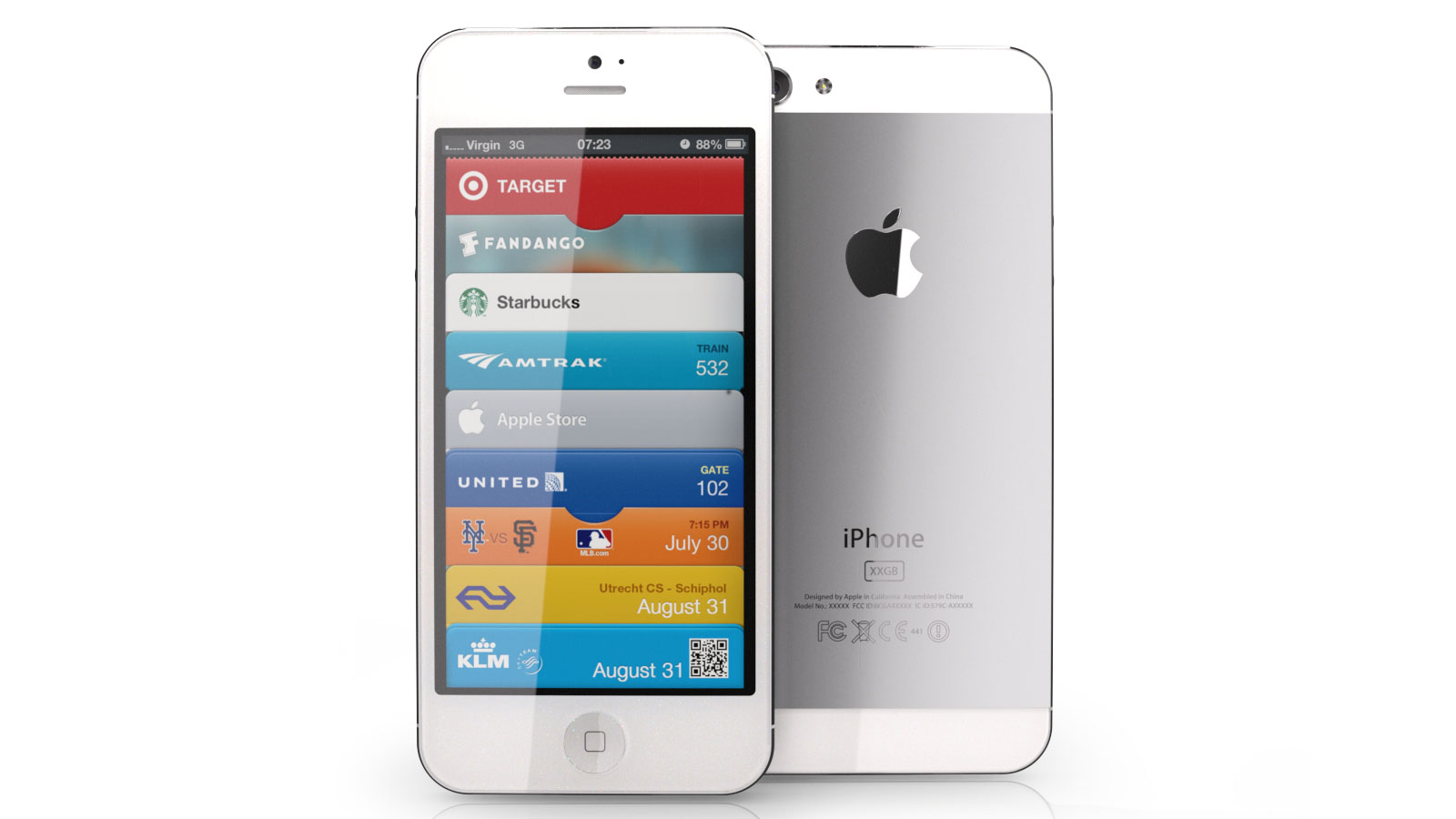 iPhone rendered image